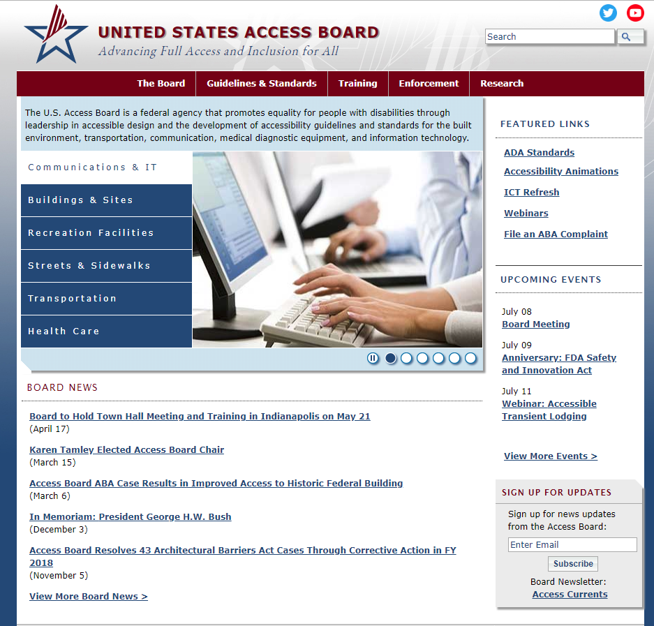 The US Access Board
